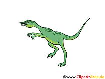 Eoraptor görüntüsü - dinozorlar resimleri, çizgi film, ücretsiz çizimler