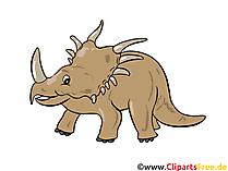 Styracosaurus Resim - dinozor resimleri, çizgi film, ücretsiz çizimler