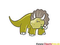 Triceratops resim - dinozorlar resimleri, çizgi film, ücretsiz çizimler