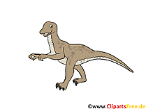 Velociraptor resim - dinozorlar resimleri, çizgi film, ücretsiz çizimler