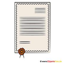 Briefbogen Clipart