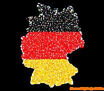 Deutschland Schwarz Rot Gold