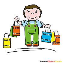 Einkaufen Clipart