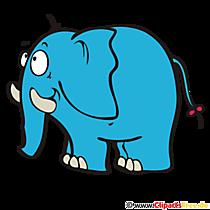 ウェブサイトwww.clipproject.infoの象のロゴ