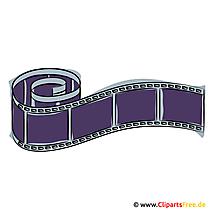 Filmstreifen Clipart