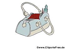 Frauentasche Bild, Clipart, Illustration, Grafik kostenlos