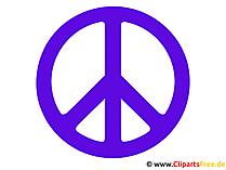 Friedenszeichen Clipart