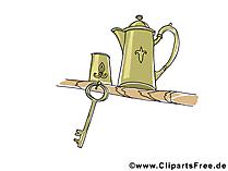 Kafeekanne Bild, Clipart, Illustration, Grafik kostenlos