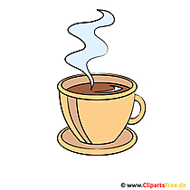 Kaffeetasse Clip Art, Bild, Grafik, Illustration