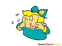 子供泣いている画像、クリップアート、イラスト、漫画、漫画無料