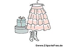 Kostenlose Cliparts Rock, Kleidung, Garderobe
