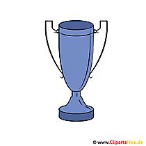 Pokal Clip Art Bild für Sportvereine