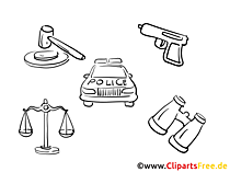 Police Clip Art free