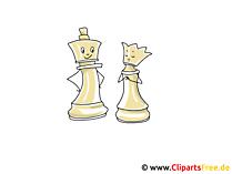 Schachfiguren Clipart