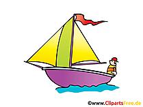 帆船画像、クリップアート、イラスト、漫画、無料の漫画