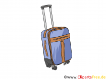 Rejsekuffertbillede, illustration, clipart