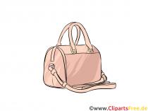 여자 이미지, 삽화, 클립 아트를위한 비싼 핸드백