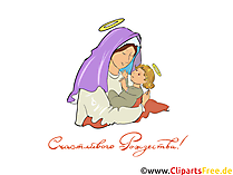 Рождество клипарт PNG, картинка, открытка