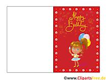 Digitale Geburtstagskarte gratis