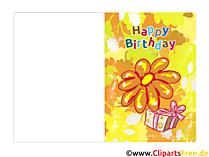 Elektronische Grußkarten zum Geburtstag kostenlos
