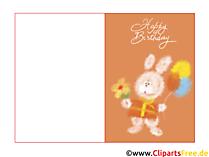 Geburtstagswünsche Kind Karte kostenlos