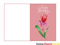 Glückwunschkarten zum Ausdrucken  gratis
