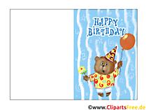Happy Birthday Karten kostenlos