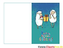 Karten selbst gestalten zum Geburtstag