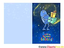 Schöne Geburtstagskarte kostenlos