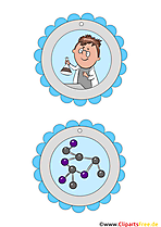 Medaille für Kinder Forscher Vorlage zum Drucken