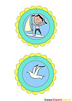 Medaillen für Kinder fürKindergeburtstag und Kinderolympiade