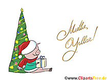 Cliparts Mutlu Yıllar