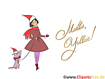 Mutlu Yıllar Süsü, Clipart