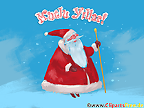 Noel Baba Mutlu Yillar Clipart