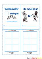 Grundschultante Stempelkarten Teil 1 8
