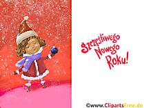 Kartka składana Wesołych Świąt Szczęśliwego Nowego Roku