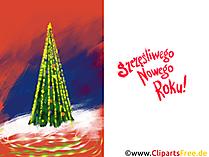 Kartki noworoczne, kartki na nowy rok