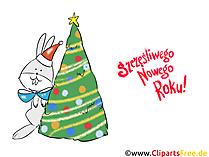 Najpiękniejszych Świąt, Szczęśliwego Nowego Roku Clipart