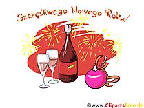 Szczęśliwego Nowego Roku Grafiki Stockowe