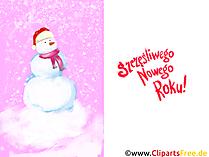 Szczęśliwego Nowego Roku  Świąteczne kartki elektroniczne