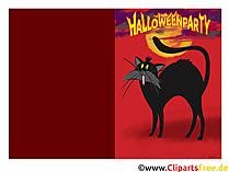 Vorlagen Einladungen Halloweenparty Bilder Cliparts Gifs