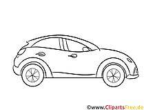 車の透かし彫り