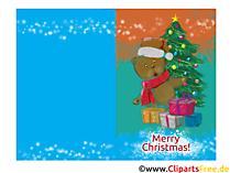 Darmowe szablony układów na kartki świąteczne w formacie poziomym