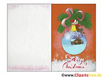 Vorlagen Weihnachtskarten