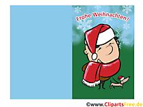 Kerstkaarten om te downloaden