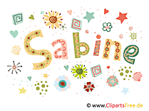 Sabine Name Illustration, Bild, Clipart