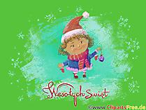 Darmowe cliparty i grafiki Wesołych Świąt