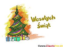 Wesołych Świąt Wesołych Świąt darmowa grafika