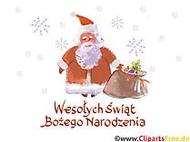 Obraz na płótnie Wesołych Świąt i Szczęśliwego nowego roku