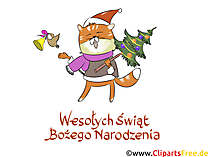 Polish New Year's Cards, Cliparts, Pics